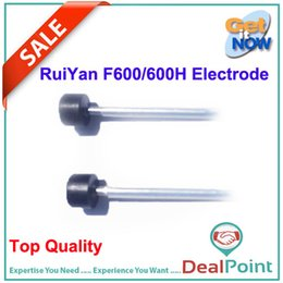 Wholesale Fiber Fusion Splicer - Wholesale-Fiber Fusion Splicer Electrode for Ruiyan F-600 600H Free Shipping