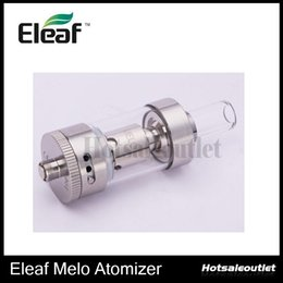 Wholesale E Cig Clearomizers - iSmoka Eleaf MELO Atomizer 3.5ml Capacity Sub ohm Tank Atomzier With 510 Thread 0.5 ohm E Cig Clearomizers 100% Original