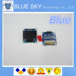 "Wholesale Lcd Oled - Wholesale-new 1Pcs white 128X64 OLED LCD 0.96"" I2C IIC SPI Serial new original"