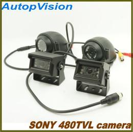 Wholesale Ir Camera For Car - 10 IR LED super night vision SONY 480TVL car bus camera for 2CH 4CH DVR