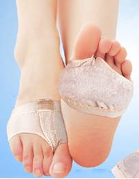 Wholesale Foot Thongs - Wholesale-Footful Pair Foot Thong Toe Undies, Dance Paws, Half Lyrical Shoe Forefoot Cover Sock H1274