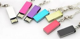 Wholesale 80pcs GB U disk rotating metal disk u disk GB genuine special gift YG ideas cocoshop856 shop