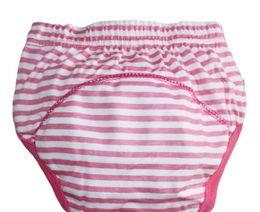 Wholesale Baby Potty Training Pants - Wholesale-4pcs lot 3 layers baby toilet training pants potty trainer panties newborn underwear underpants free shipping