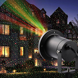 Wholesale Laser Light Projection - Outdoor Solar Laser Light Landscape Lamp For Garden Yard Christmas Holiday Decoration lamp Waterproof projection Lamps Spotlight Projector