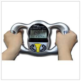 Wholesale Using Moq - MOQ 1pc Health Body Tester Calculator Digital Body Fat Analyzer Health Monitor BMI Meter home use