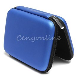 Wholesale Hdd Protector Case - Convenient Blue Hard Carry Case Cover Pouch for 2.5 USB External WD HDD Hard Disk Drive Protect Protector Bag Enclosure