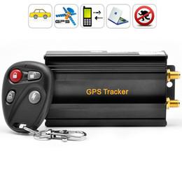 Argentina Sistema de alarma antirrobo del coche del perseguidor de GPS del vehículo TK103B 4 bandas con el sistema de seguimiento GPS de coche de la ranura para tarjeta del SD Suministro