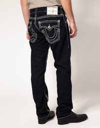 Wholesale Mens Pants Patterns - TR Men's Distressed Ripped Skinny Jeans Fashion Designer Shorts Jeans Slim Motorcycle Moto Biker Causal Mens Denim Pants Hip Hop Men Jeans