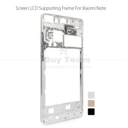 Wholesale Note Screen Parts - Wholesale-Original Screen Supporting Middle Frame for Xiaomi Mi Note Pro Front Bezel Housing Replacement Parts for Xiaomi Mi Note