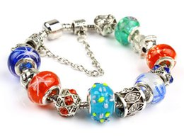 Wholesale Europe Fashion Charm Bead Bracelet - Han edition of fashion and personality crystal bracelet Europe and the United States act the role ofing is tasted Crystal glass beads Popula