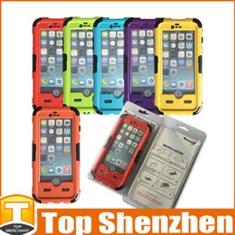 Wholesale Redpepper Iphone Case Cover - Redpepper Red Pepper Waterproof Shockproof Dirtproof Diving Cover Case For Iphone 6 Hard PC Plastic Cellphone bag With Retail Package