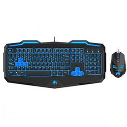 Wholesale Mouse Rapoo - Wholesale-Warface Kit Gamer Rapoo Optical Mouse A4tech Gaming Keyboard And Mouse Teclados Gamer For Android Mini Pc Tv Box6143