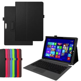 Wholesale Microsoft Surface Covers - Business PU Leather Case Cover for Microsoft Surface Pro 4 + Screen Protector Protective Film