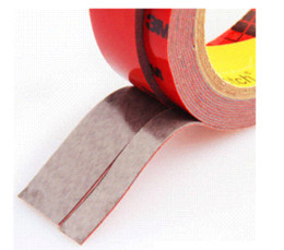 Wholesale 3m Tissue - 3M car sticker Auto Foam Faced Adhesive Tape 10mm*3m Vehicle Double Sides Sticker Tissue Tape car decals accessories decoration