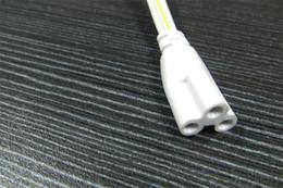 2019 dc-klinkenstecker 3 Meter langen Kabelstecker für T8 2ft / 3 ft / 4 ft / 5ft Schlauchlichter zwei Kopf-Stecker 100pcs / lot Lager in US DHL / Fedex freies Verschiffen für Käufer