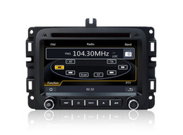 Wholesale Gps For Dodge Ram - Auto Radio Car DVD Player GPS Navigation for Dodge RAM 1500 2014 2015 with Navigator Bluetooth TV SD USB Stereo Audio Video