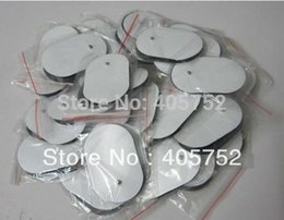 Wholesale Tens For Slimming - Free Shipping 20pcs lot TENS EMS Self Adhesive Electrode pads Acupuncture Slimming Massager for Digital Therapy Machine A2