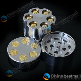 Wholesale Drop Shipping Bullet - Bullet Shape Herbal Herb Tobacco Grinder Smoke Grinders hand Muller Magnetic Smoking Accessories Drop Shipping