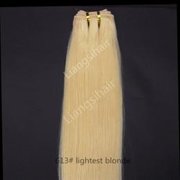 """Perulu Saç Demetleri Brezilyalı Malezya Hint Virgin İnsan Saç Dokuma Düz Saç Atkı Uzantıları 100g 1 adet 16 """"-26"""" 613 # Hafif Sarışın nereden"""