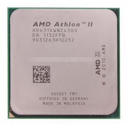 Wholesale Amd X4 - (Not a Brand New) AMD Athlon II X4 631 2.6Ghz Socket FM1 Quad Core 4MB L2 100W TDP