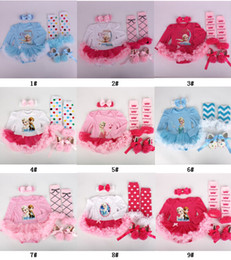 Wholesale long black shoe laces - 2015 New Girls Baby Christmas Halloween Rompers Tutu Dress set long sleeve romper+Baby Ruffle lace legwarmer+Girls headband+Infant shoes 4pc