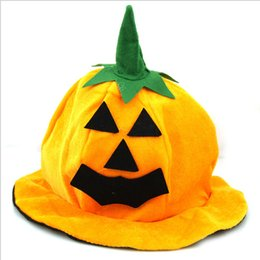 Wholesale Prom Dress Games - Pumpkin Hat Halloween Easter prom Party Supplie Game performance props - High-grade Pumpkin Hat Pumpkin Dress up For Child Dress up
