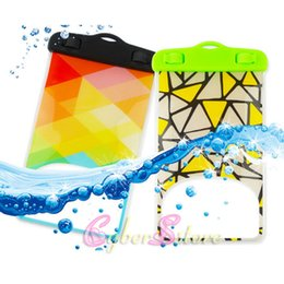 Wholesale Iphone Cute - For iphone 6 Universal Cute Cartoon Waterproof Case Cover Bag Water Proof Diving Underwater Pouch For i6 6plus Samsung S6 Edge Note 4