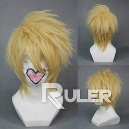 Wholesale Amnesia Wigs - Free Shipping>>>Short Layer Anime AMNESIA TOMA Cosplay Wig COS-265A