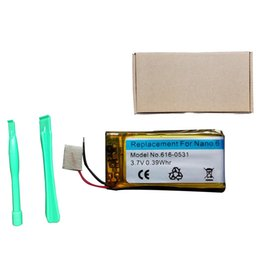 Wholesale Nano Battery Replacement - Replacement Battery Rechargeable for iPod Nano 6th Gen,3.7V 0.39 WHR 616-0531