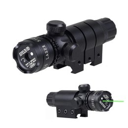 Wholesale Laser Designator Hunting Light - 5mW Tactical Green Laser Designator Hunting Dot Sight With High Bright Green Laser Beam 21mm Rail Mount And Tail Line Switch Included.
