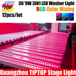 Wholesale Led Wall Washers Pricing - Wholesale-Waterproof 12Pcs Lot 36*9W 3In1 Led Wall Washer Light DMX 3 7CH LED Wall Washer Manufacturer Competitive Prices Fast Shipping