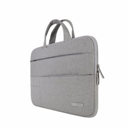 Wholesale 13 Inch Laptop Briefcase - Laptop Bag Sleeve Case Portable Notebook Handbag Air Pro 13 14 15.6 For Dell HP Macbook Surface Pro Free DHL Shipping