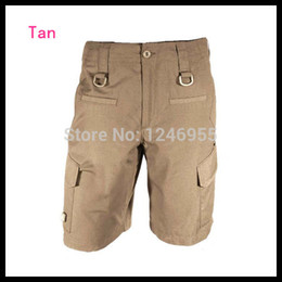 Wholesale Quick Tan - Wholesale-Tan Color Mens Force 10 Cargo Shorts Breathable Quick Drying Short Pants Cycling Hunting