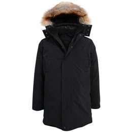 Wholesale Sweden Canada Parka - New brand CMFR mann jacken Gormley Long Parka with real raccoon fur hood Canada Sweden Germay