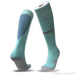 Wholesale Hot Men Sock Soccer - Soccer socks 2017-18 wholesale adult football sport long socks 17 18 fit foot Hot sale Best sell