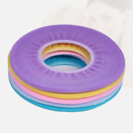 Wholesale Soft Toilet Cover - 1PC 30*30cm Multi-Color Toilet Seat Covers Soft Warm Toilet Mat Pads Knitted Toilet Cushions Closestool Protector Bathroom Accessories
