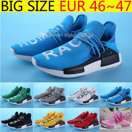 Wholesale Factory Family - Big Size New Wholesale Factory Human Race Friends and Family Pharrell NMD Boost Runner Pharrell Williams NMD mens Running Shoes size 36-47