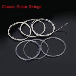Guitare Classique Six Cordes Nylon Argent Placage Set Super Light Acoustic Guitar Instruments de musique à partir de fabricateur