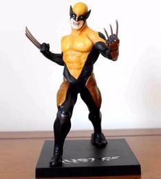 Wholesale Action Figure Weapons - Wolverine Figure Logan Justice League ARTFX+ X Force Statue X MEN Weapon X Iron Man Action Figure Model Collection Toy