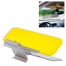 Wholesale Anti Driver - 2 in 1 Anti glare Eyesight protecting Mirrors Clip-on Headlights Sun Head Light Visor Automotive Car Sunvisor for Driving Driver