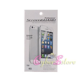 """Wholesale Iphone Scratch Guard - Price Difference.For iPhone6 4.7 inch Front Clear Screen Protector (with Retail Package) Guard Film For iPhone 6 4.7"""""""