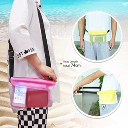Wholesale Camera Bags For Hiking - Waterproof Pouch Dry Bag Case with Waist Strap for Beach Swimming Boating Kayaking Fishing Hiking for Cell Phone Camera Cash MP3 Passport