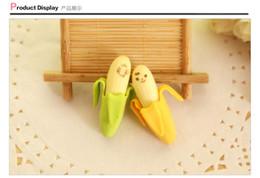 articoli da regalo all'ingrosso della cancelleria Sconti 2015 nuovi arrivano vendita promozione nuova simulazione creativa banana eraser / forniture per ufficio gomma gomma / articoli di cancelleria