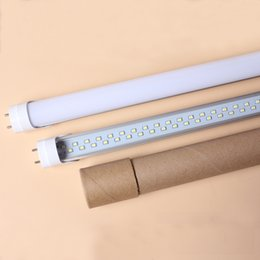 25W chips de 4 pies T8 T10 línea doble LED Lámparas LED tubo fluorescente 50w reemplazo 48