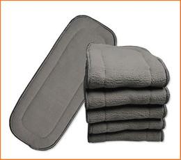 Livraison gratuite bébé Couche Inserts 5 couches Bamboo Charcoal inserts Baby Changing Pads bonne qualité ? partir de fabricateur