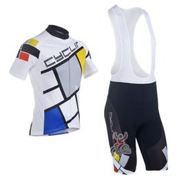 Wholesale Clothing Cheap Suit - 2016 cyclingbox Team Cycling Jersey Cycling Wear Cycling Clothing+short bib suit-cyclingbox-1B High Quality Free Shipping Cheap Price