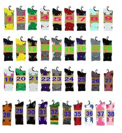 Wholesale Maples Leaves - 40 colors High Crew Skateboard hiphop socks Leaf Maple Leaves socks Stockings Cotton Unisex Plantlife Socks 1 lot=2pc=1pair