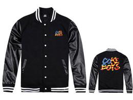 Wholesale Boys Sportwear - Fall-2015 coke boys full cotton hoodie jackets dem boyz sweatshirts bbc outerwear sportwear longshirt crooks castles raiders diamond