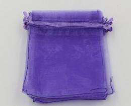 Sacchetti del sacchetto del regalo dei monili del organza della luce viola del MIC per i favori di nozze, i branelli, i monili 7x9cm 9X11cm 13 x18cm (314) supplier purple wedding bags da borse di nozze viola fornitori