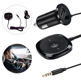 Wholesale Free Music Tuner - BC20 Car Bluetooth MP3 Music Player Kit Auto Radio Player Hands-free FM Transmitter Extend Dual USB CAU_21R